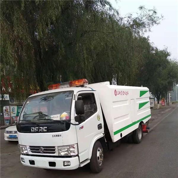 东风多利卡国五五立方-- 真空吸尘车|扫地车|道路清扫车
