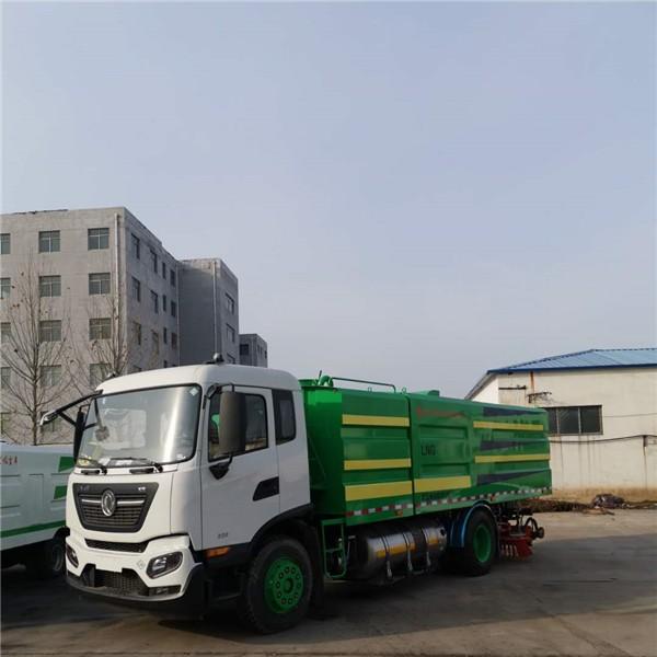 东风天锦国六12立方-- 真空吸尘车|扫地车|道路清扫车