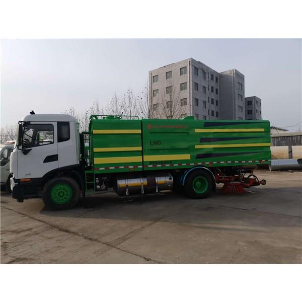 国六东风天锦-- 真空吸尘车|扫地车|道路清扫车